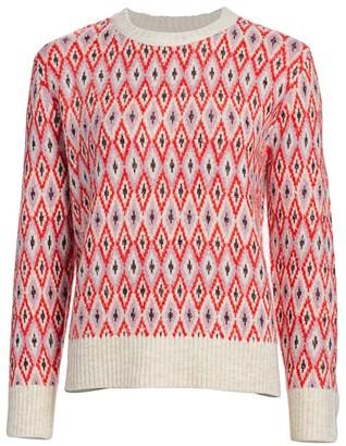 MUNTHE Journal Intarsia-Knit Pullover