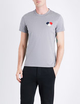 Moncler Three-circle cotton-jersey T-shirt