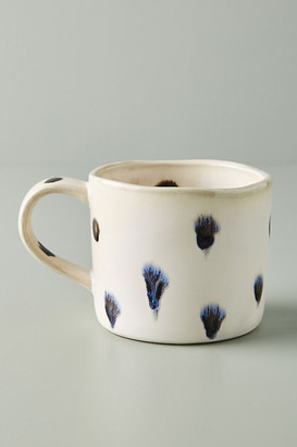 Anthropologie Pet Figurine Mug By in White Size MUG/CUP