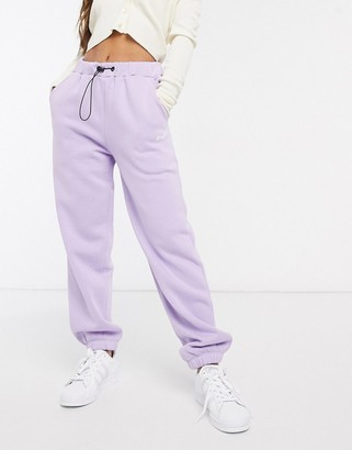Criminal Damage joggers tracksuit in lilac
