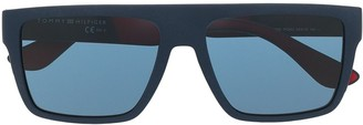 Tommy Hilfiger Logo Square Sunglasses
