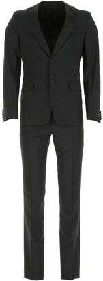 Prada Single Breasted Tuxedo Suit