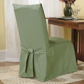 Sure Fit Duck Solid - Dining Room Chair Slipcover - Sage (SF33071)