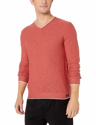 Lucky Brand Men's WELTER Weight V-Neck Pullover Sweater