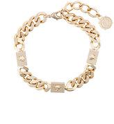 Versace Medusa chain choker necklace