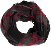Unknown Factory Plaid Infinity Scarf