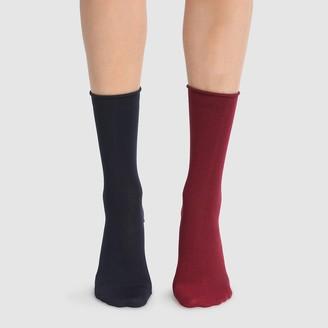Dim Pack of 2 Pairs of Modal Socks