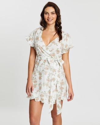 Homebodii Marianne Floral Robe