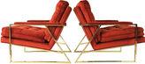 One Kings Lane Vintage Midcentury Lounge Chairs, Pair