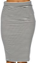 Roxy Call Up In Dreams Stripe Skirt