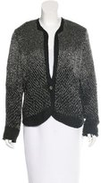 Theyskens' Theory Embellished Knit Blazer
