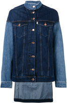 Aalto contrast denim jacket - women - Cotton - 38