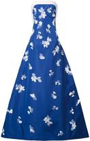 Carolina Herrera embellished strapless gown