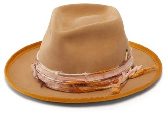 Nick Fouquet Ra Felt Fedora - Mens - Brown