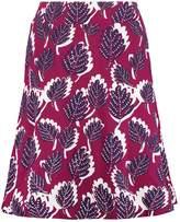 White Stuff DOTTY LAEFE Aline skirt desert red
