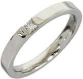 Harry Winston Platinum Pt950 Diamond Ring Size 8.25