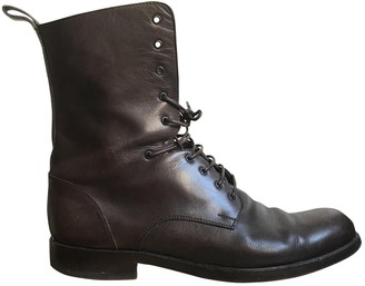 Marc Jacobs Brown Leather Boots