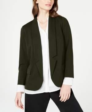 Alfani Petite Notch-Collar Blazer, Created for Macy's