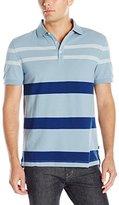 Nautica Men's Classic Fit Stripe Polo Shirt