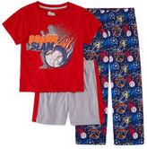 Asstd National Brand 3-pc. Kids Pajama Set Boys