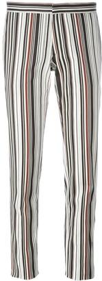 Giambattista Valli Striped Skinny Fit Trousers