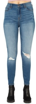 Rewash Juniors' Stevie High-Rise Skinny Jeans