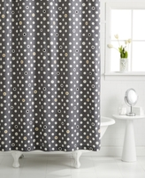 Martha Stewart Whim by CLOSEOUT! Whim by Collection Pop Dot Shower Curtain