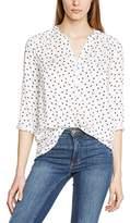 Tom Tailor Women's Loose Aop Tunic Long Sleeve Blouse
