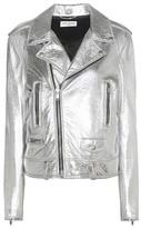 Saint Laurent Classic L01 Leather Biker Jacket