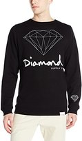 Diamond Supply Co. Men's Og Script Brilliant Crewneck