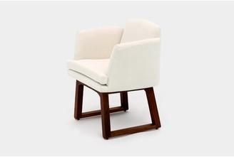 Artless Allison Sled Base Upholstered Dining Chair Upholstery Color: Eggshell