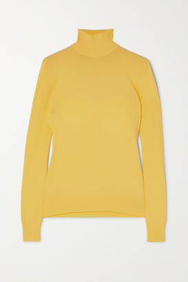 Bottega Veneta Knitted Turtleneck Sweater - Yellow