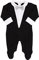 Lyda Baby Tuxedo Tails Footed Coverall