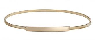 """VOCHIC Women Skinny Metal Waist Dress Belt for Ladies Stretch Wedding Chain Gold - gold - M (27.6/31.5"""")"""