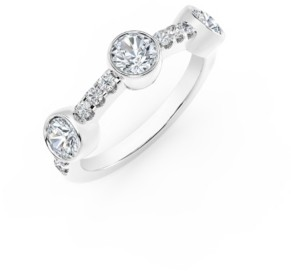 Forevermark Tribute Collection Diamond (1/2 ct. t.w.) Ring in 18k Yellow, White and Rose Gold