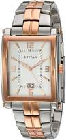 Titan Men's 9327KM05 Regalia Analog Display Analog Quartz Silver Watch