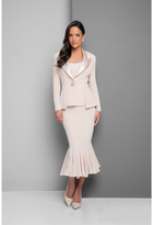 Terani Evening - Crystal Trimmed Dress with Jacket 1525S0969B