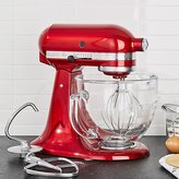 Crate & Barrel KitchenAid ® Artisan ® Design Series Candy Apple Red Stand Mixer