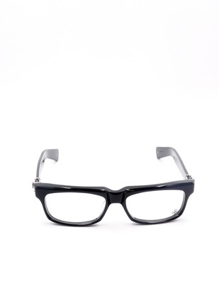 Chrome Hearts Rectangular Frame Glasses
