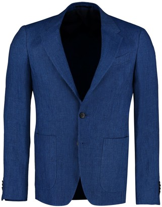 Ermenegildo Zegna Single-breasted Two Buttons Linen Jacket