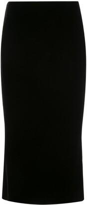 Marchesa Pencil Midi Skirt