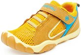 PPXID Boy's Girl's Mesh and Leather Trainers Running Sneakers Casual Sport Shoes- 28 CN