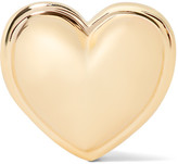 Alison Lou Heart 14-karat Gold Earring - one size