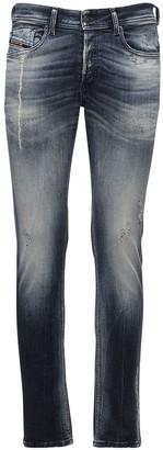 Diesel Sleenker-x Cotton Denim Jeans