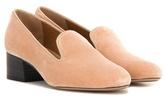 Chloé Velvet Loafers