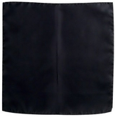 Forzieri Black Silk Pocket Square