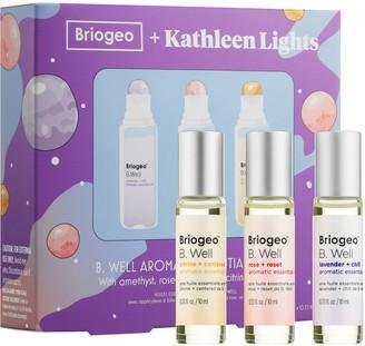 BRIOGEO + Kathleen Lights B. Well Aromatic Essential Oils Kit