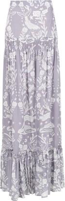 Martha Medeiros Paris printed skirt