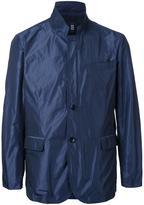 Kent & Curwen stripe casual blazer jacket