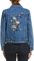 Lunik Embroidered Denim Jacket